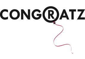 Congratz Vector