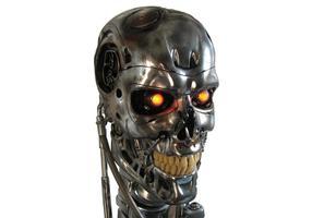 Terminator Skull Vector