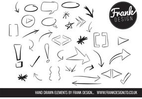 Hand-drawn-vector-elements