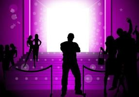 Glowing-purple-party-vector-background