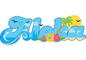 Aloha Hawaii Vector