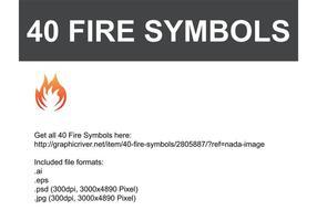 Fire-vector-symbols