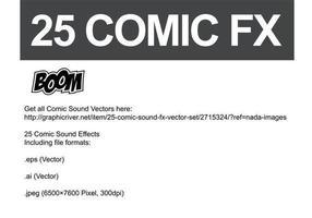 Comic Vector Sonido FX