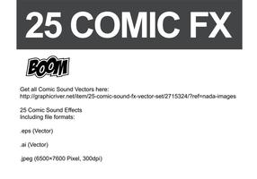 Comic Vector Sound FX