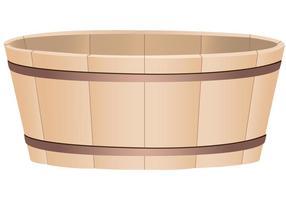 Wooden-bucket-vector