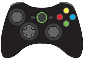 Vector del controlador del juego