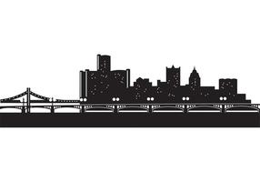 Detorit-skyline-vectors
