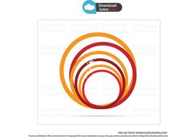 Orange Creative Symbol Circle Vector