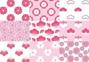 Japanese-blossom-floral-pattern-vector-pack