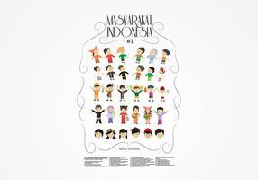 Masyarakat Indonésie