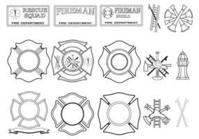Fire-department-vector-pack
