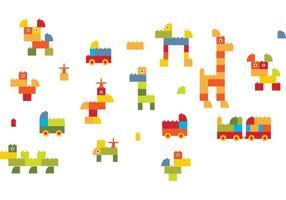 Block-animals-wallpaper-vector
