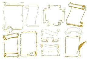 Old-scrolls-vector-pack