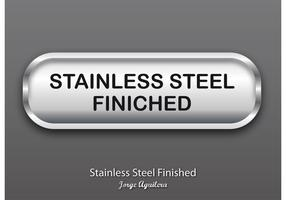Stainless Steel Finished Vector Button