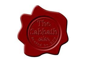 Vector Wax Seal The Sabbath