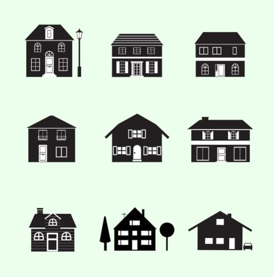 House Free Vector Art - (8501 Free Downloads)