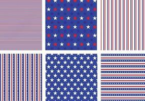 Usa-stars-and-stripes-pattern-vector-pack