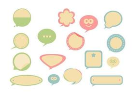 Retro-speech-bubble-vector-pack