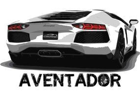 Lamborghini Aventador Auto Vektor