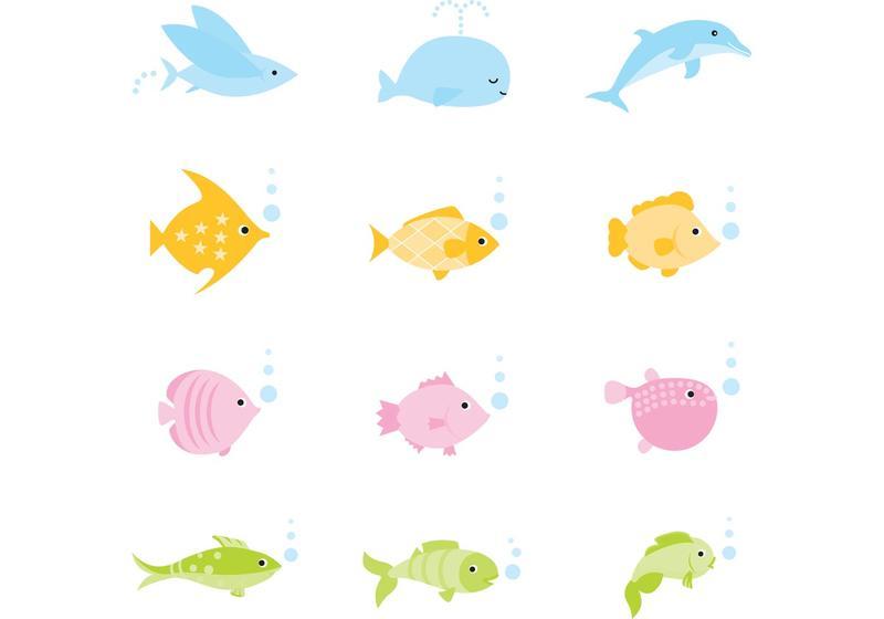 Cartoon Fish Free Vector Art - (7973 Free Downloads)