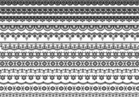 Lace Border Vector Pack
