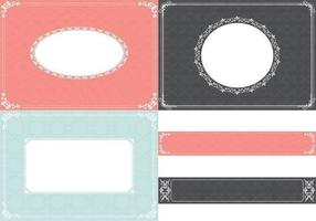 Vintage-ornament-background-vector-and-label-vector-pack