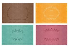 Vintage Wallpaper Vector Pack