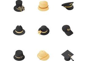 Sombrero Vector Icon Pack