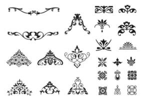 Viktorianische Ornament Vector Pack