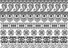 Ornamental Border Vector Pack