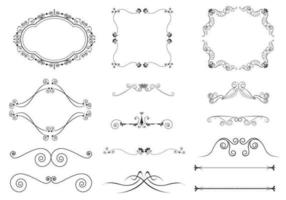 Bloeien Ornament Vector Pack