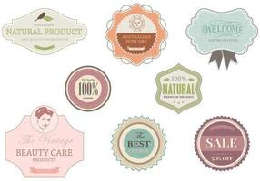Shop and Boutique Label Vector Pack