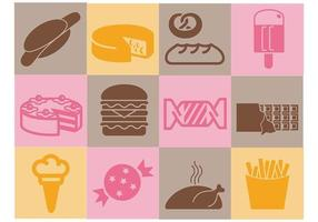 Diverse Food Vector Icons Pack