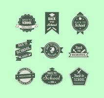 Vintage-back-to-school-label-vector-pack