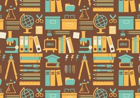 Seamless-education-pattern-vector
