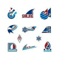 Sailing-logo-vector-pack