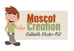 Mascot Vector Creation Template