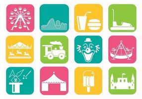 Amusement-park-vector-pack