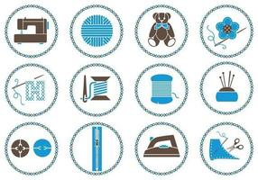 Sewing Brush Vector Pack