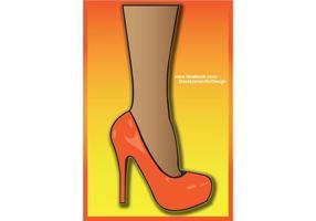 High Heel Vector