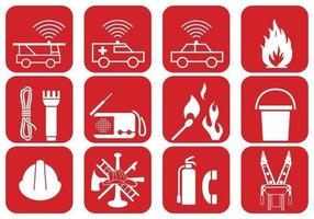 Fire Safety and Emergency Vector Pack