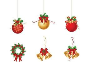 Kerst Ornament Vector Pack