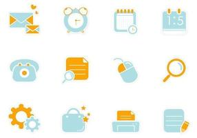 Web Sticker Vector Element Pack
