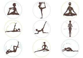 Yoga-position-vector-pack