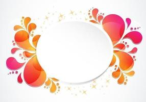 Spirly Swirly Banner Vector