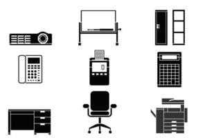 Office-equipment-vector-pack