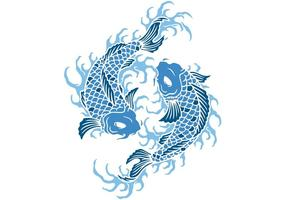 Koi Fish Vector