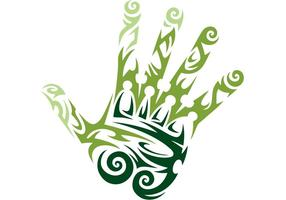 Tattoo-hand-vector
