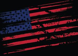 Grungy-us-flag-vector