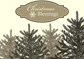 Vecteur de bénédictions de Noël